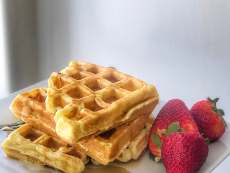The Easiest Waffles Ever