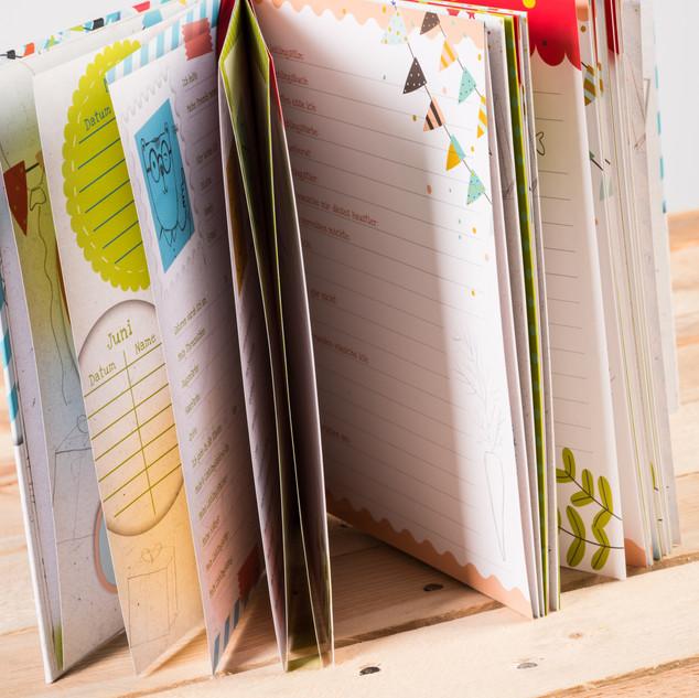 Meine Schulzeit, Freundebuch, Brunnen