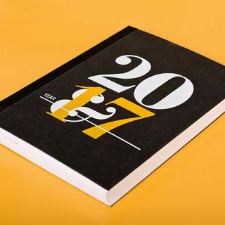 Kalender Letterpress 2017, Brunnen