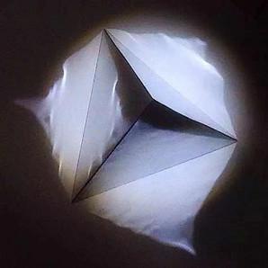 Seemingly Flat Pyramid