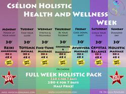 CHolistic Health and Wellness Week