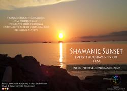 Shamanic sunset!