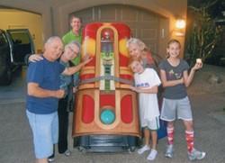 Refurbished Jukebox and Happy Family