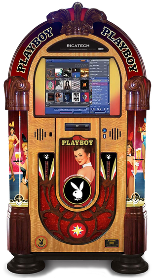 Playboy Collectors  Music Center Rock-Ola Jukebox