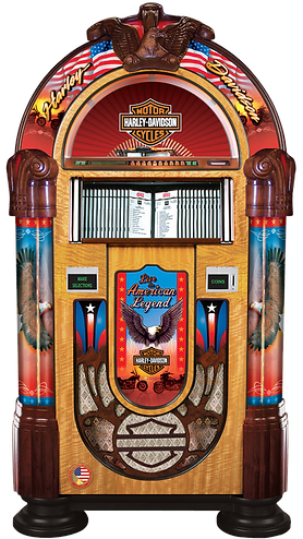 Harley Davidson CD Rock-Ola Jukebox