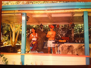 CH.5 - Win Cyn on porch of Blunder Bay.j