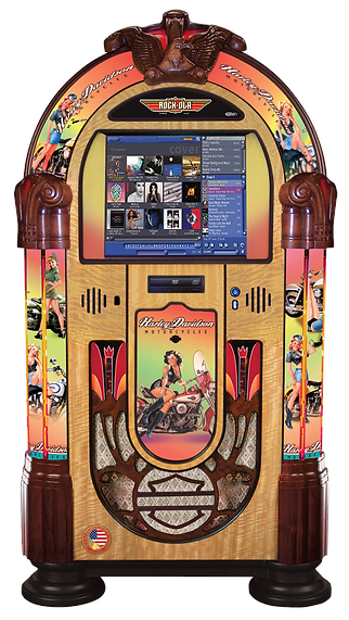 HD American Beauty  Music Center Rock-Ola Jukebox