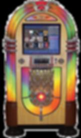 Nostalgia Bubbler Music Center Rock-Ola Jukebox