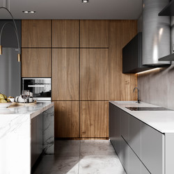 Кухня-столовая. Зона хранения