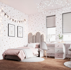 Детская комната для близняшек