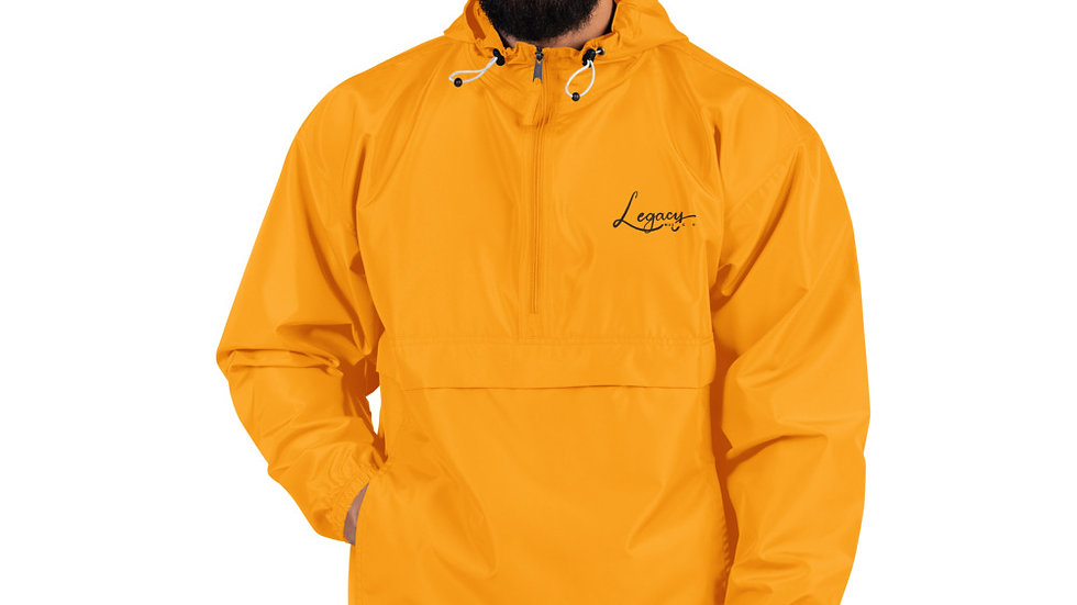 Legacy Embroidered Champion Packable Jacket