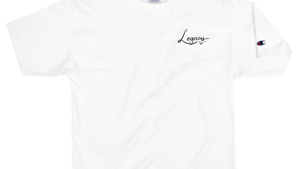 Legacy Music Group Embroidered Men's Champion T-Shirt