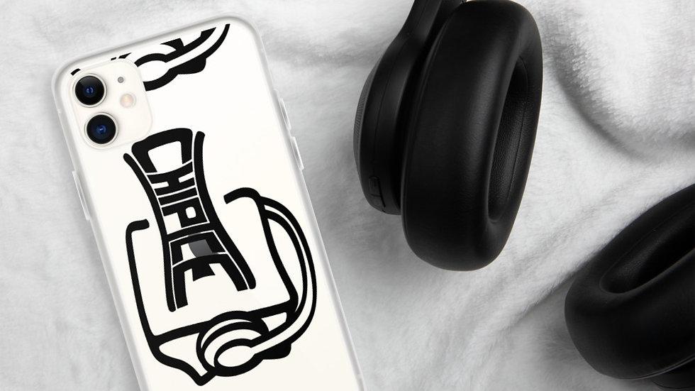 Chip Ice Black iPhone Case