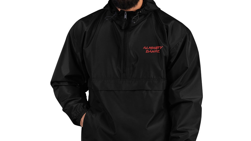 Almighty Bandz Embroidered Champion Packable Jacket