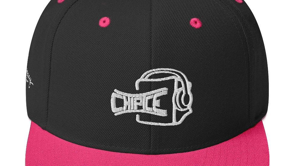 Chip Ice Full Logo Snapback Hat