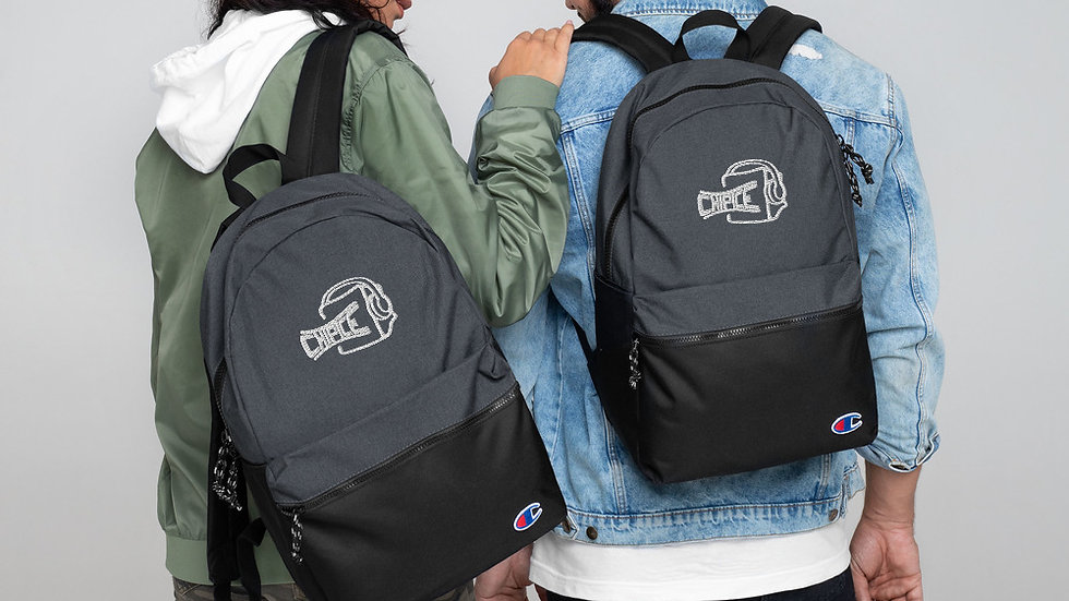 Chip Ice Embroidered Champion Backpack