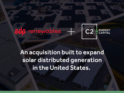 EDP Renewables Acquires Majority Interest in C2 Omega
