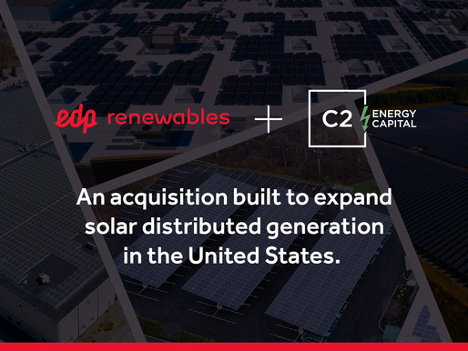 EDP Renewables Announces Acquisition Closing, Acquiring 85% Stake in C2 Omega