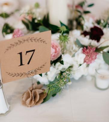 RECEPTION Lantern Centerpiece burgundy blush cream rustic elegance _@PacificViewsEventCenter table 17