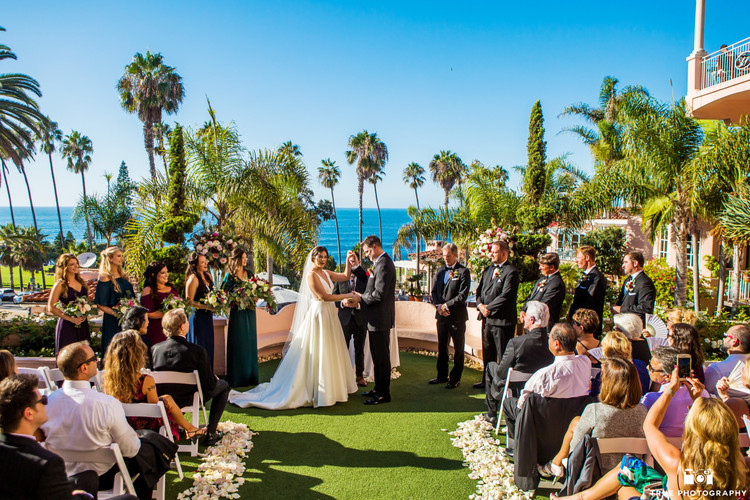 Dani & Clint's romantic elegant wedding