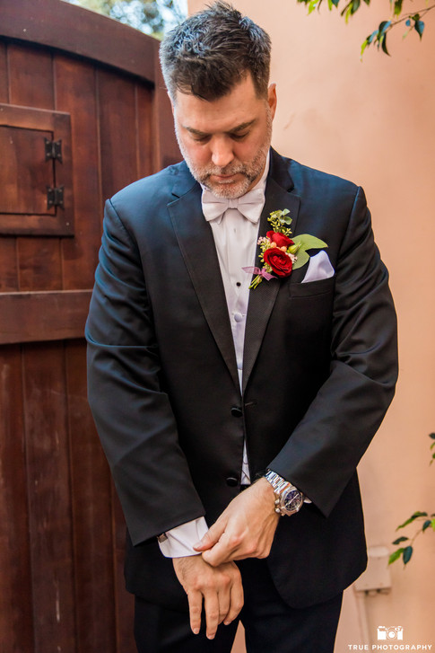 Clint groom finishing touches