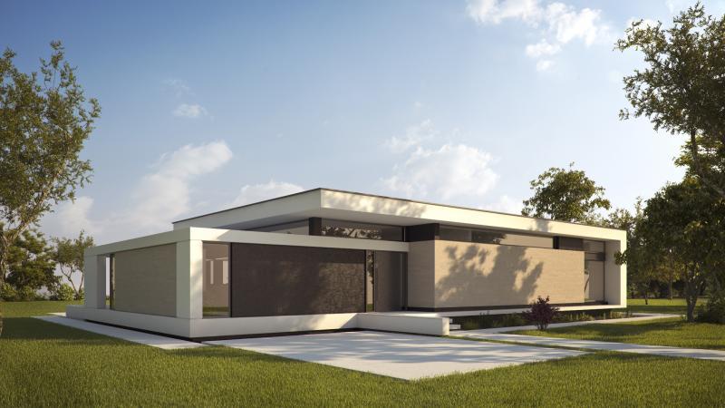 casa bonita y moderna