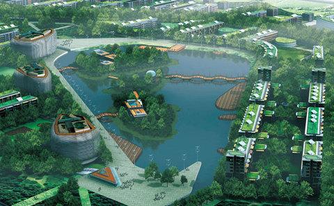 dongtang, eco city