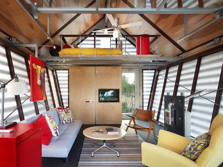 interior de casa pequeña