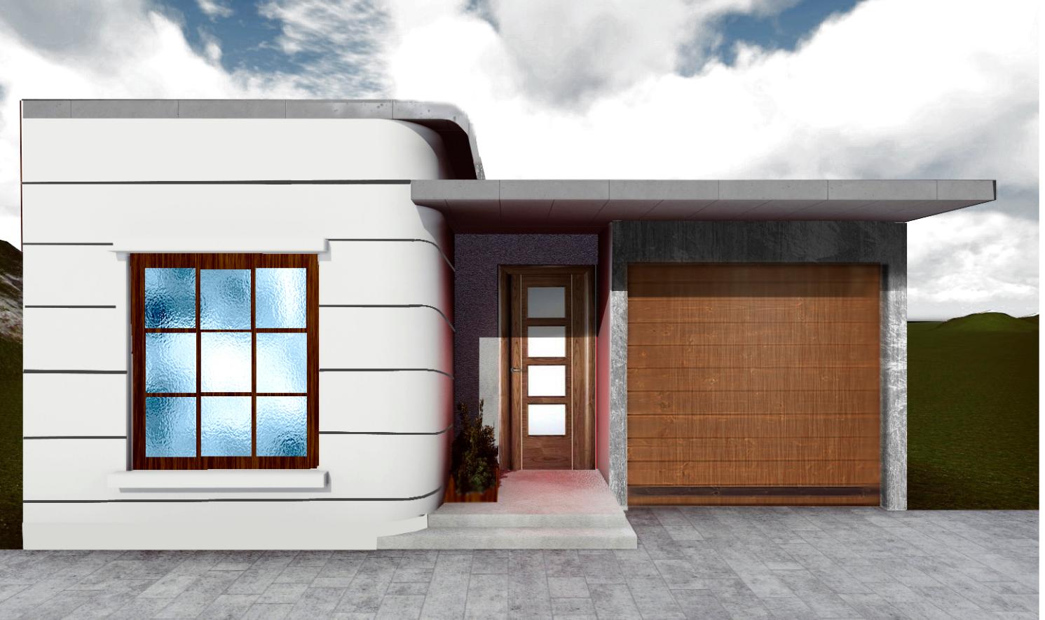diseños de casas fachada final