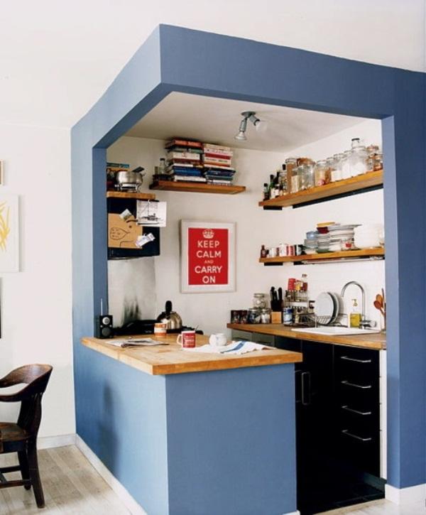 cocina sin gabinetes