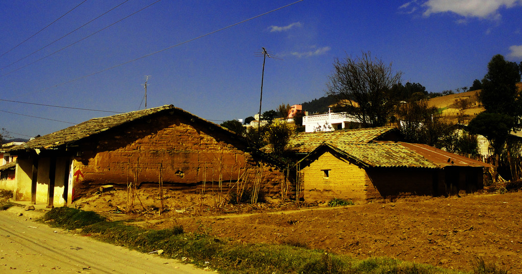 casas de adobe