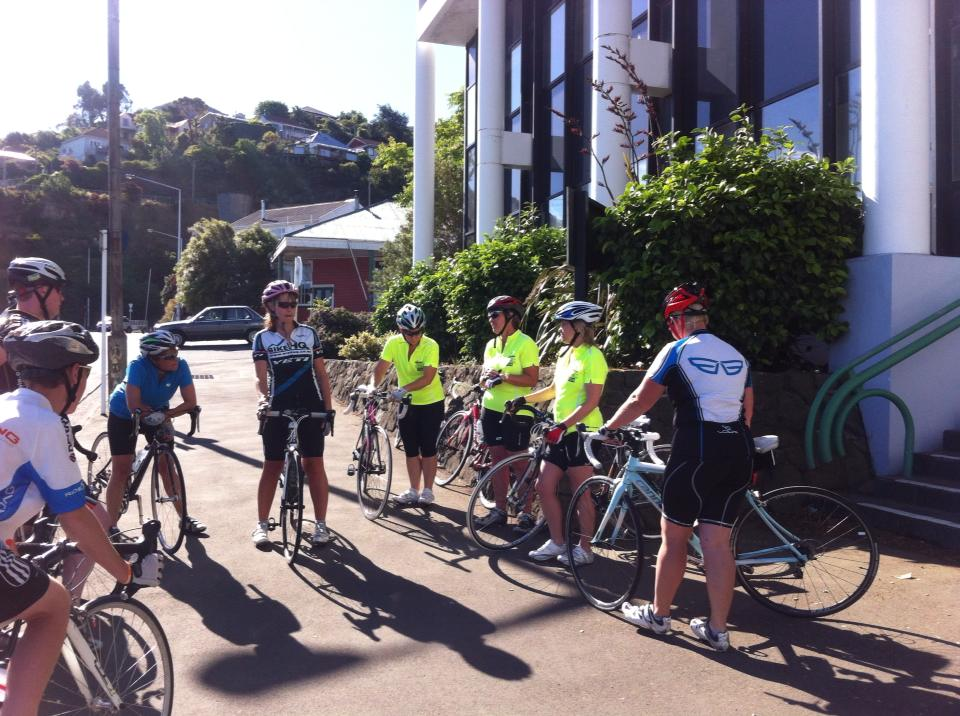 Mid week ride from Lyttelton