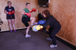 Kick and box fitness