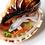 Thumbnail: Trumpet Shell Series: White Koi Fish | 3D Resin Painting