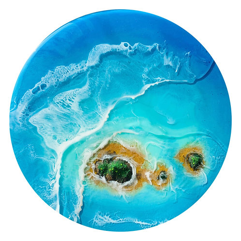 Ocean Skerries | Resin Art | Wall Decor