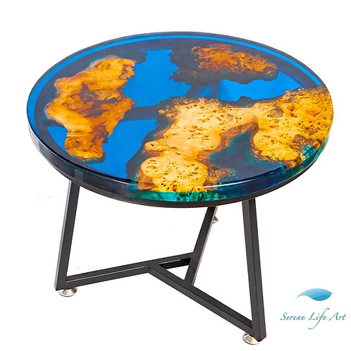 Sapphire River Table | Epoxy Resin Table