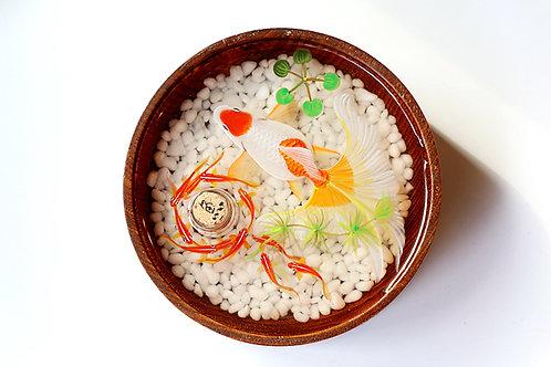 White Tail Goldfish Resin Art | Essential Oil Diffuser