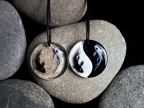 Yin Yang Fish Necklace | Tui and La | Avatar the Last Airbender