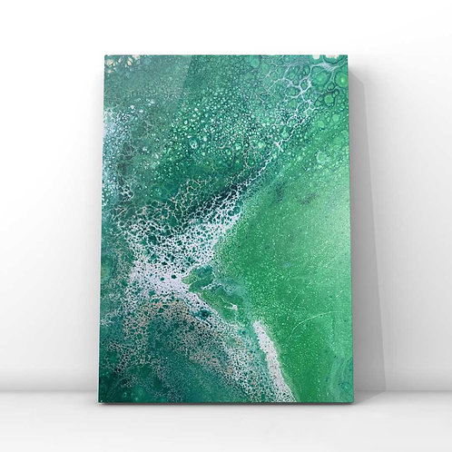 Serene Foam | Abstract Wall Art