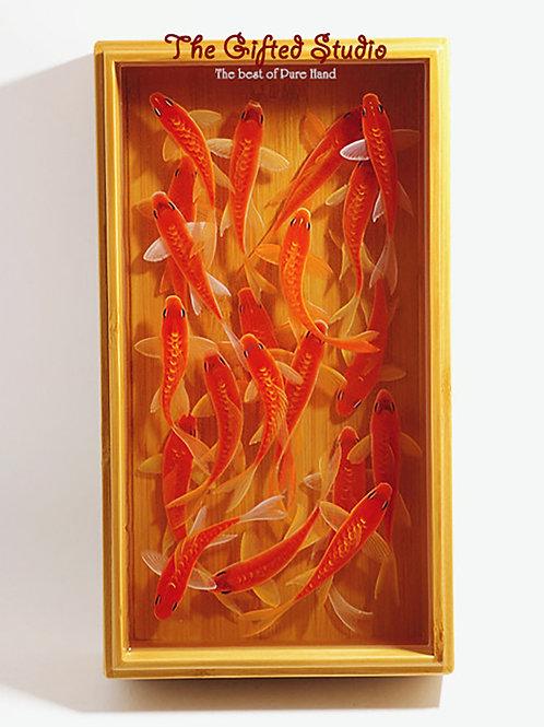 Bamboo Aquarium with Kois | Resin Art