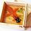 Thumbnail: Black Head Orange Goldfish | Resin Art