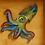 Thumbnail: Orange Octopus | Resin Art