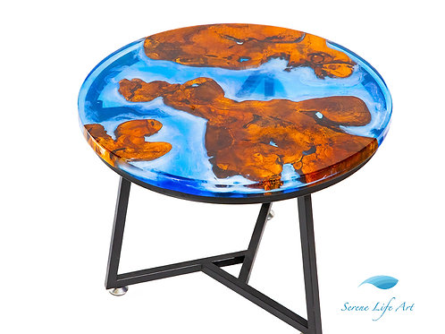 Oceania River Table | Epoxy Resin Table