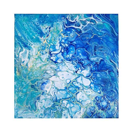 Mighty Fervor | Fluid Acrylic Canvas Painting