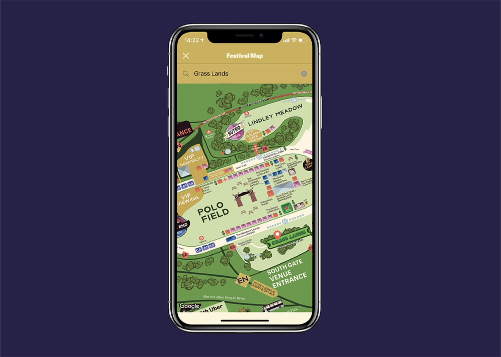 Outside Lands 2019 Interactive Map