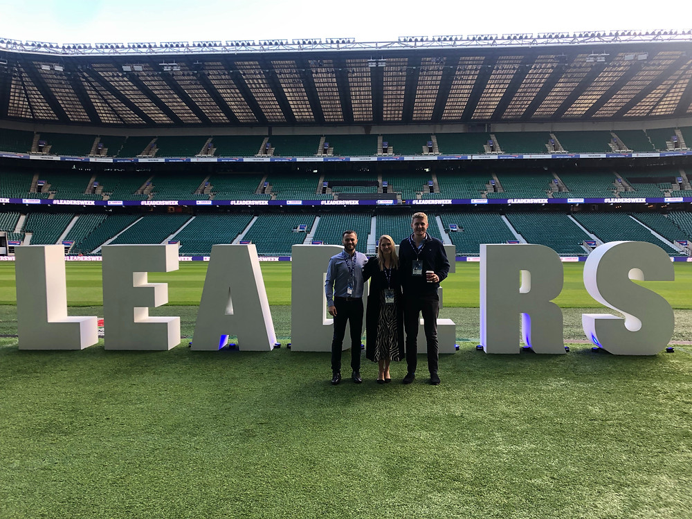 The LiveStyled team at Leaders Sport Summit 2019 at Twickenham
