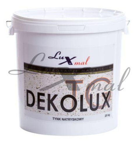 Decorative plaster | Spray plaster