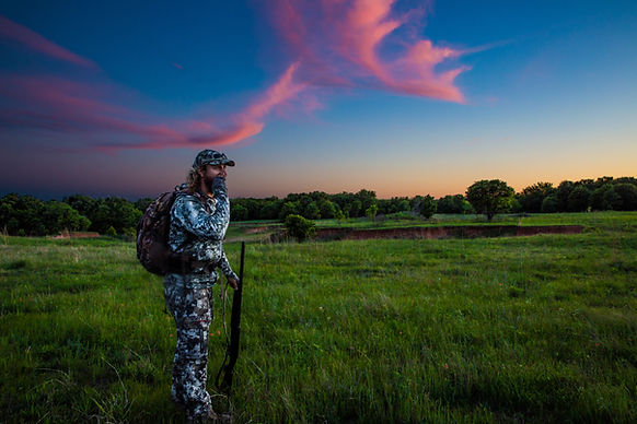 Hunting turkeys on Texas public land