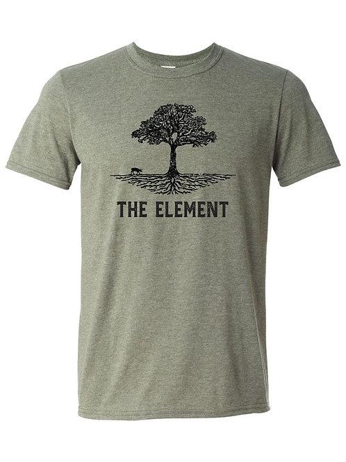 Element Tee (Heather Olive)