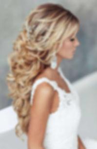 Vegas Bridal up do